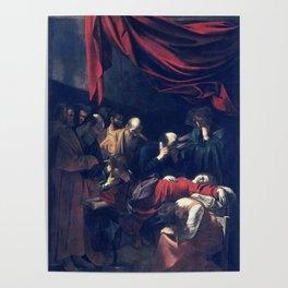 Caravaggio Death of the Virgin Poster