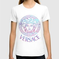 versace T-shirts featuring Versace always stuntin' by Goldflakes