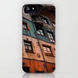 Hundertwasser museum iPhone Case