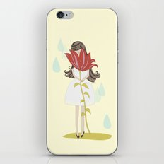 lily girl iPhone & iPod Skin