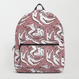 Symmetrical Woman Backpack