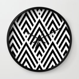 Minimalistic Pattern Wall Clock