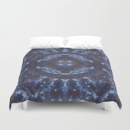 Eye of the Galaxy Duvet Cover