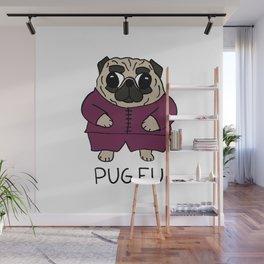 PUG FU Wall Mural