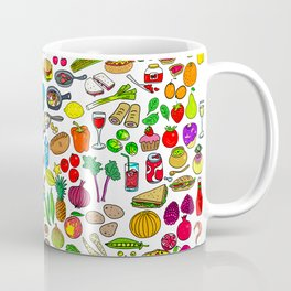 Food Lovers Variety Set Coffee Mug