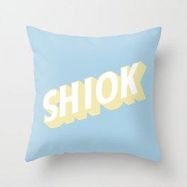 SHIOK Throw Pillow