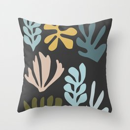 Seagrass - dusk Throw Pillow
