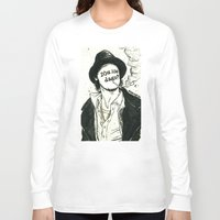 "snatch Long Sleeve T-shirts featuring ""D'ya like dags?"", 2014 by Unaitxo"