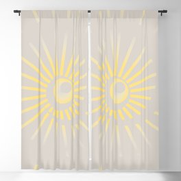 Sunshine / Sunbeam 2 Blackout Curtain