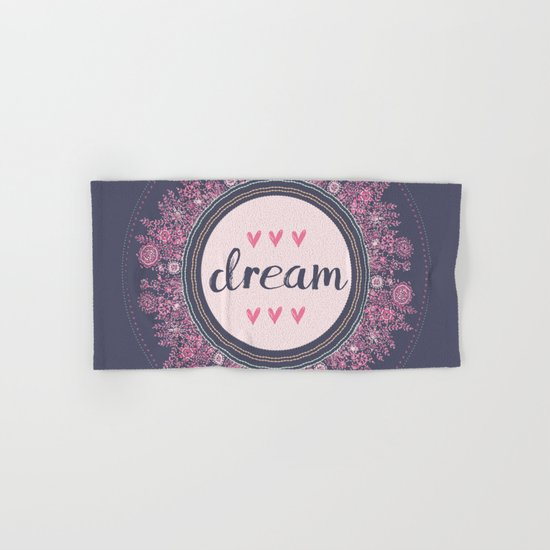Love-Dream-Love Hand & Bath Towel