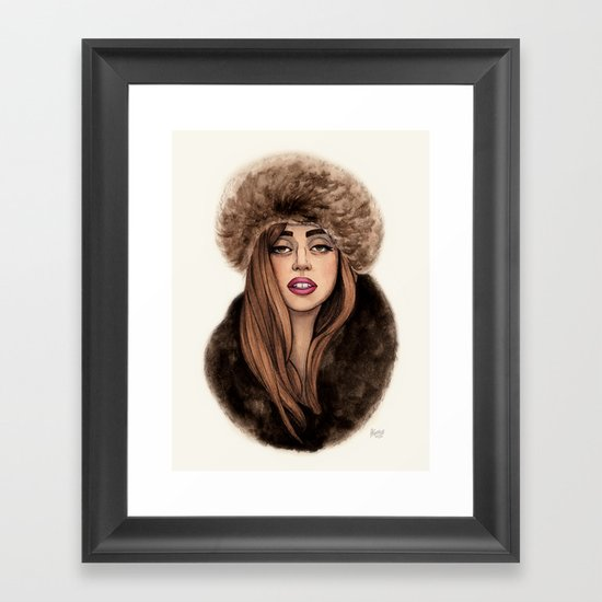 Russian Princess Framed Art Print