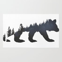 Pacific Northwest Bear Rug