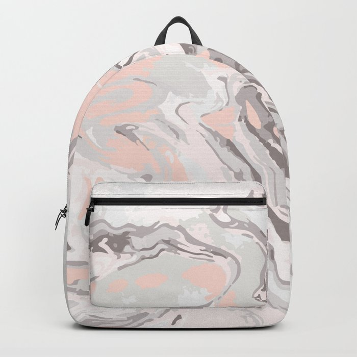 Effect Marble pink Backpack