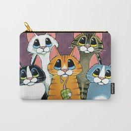 A Feline Family Portrait Carry-All Pouch
