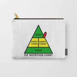 Elf Nutrition Chart Carry-All Pouch