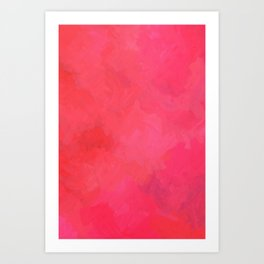 Pink dream Art Print
