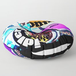 idlers gonna idle Floor Pillow