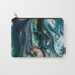 Abstract Melt VIII Carry-All Pouch