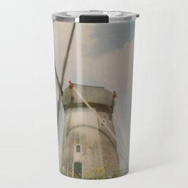 A mill in rural The Netherlands Travel Mug