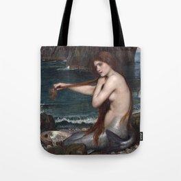 John William Waterhouse, Mermaid, 1900 Tote Bag