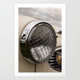 Vintage Car 11 Art Print