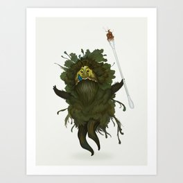 King Kawak Art Print