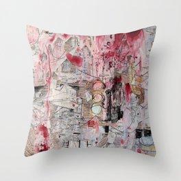 Dream (on Flight) Throw Pillow