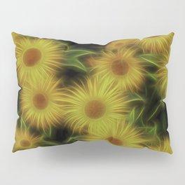 Fractal Doronicum Caucasicum's Pillow Sham