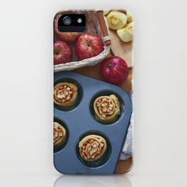Apple cinnamon roll iPhone Case