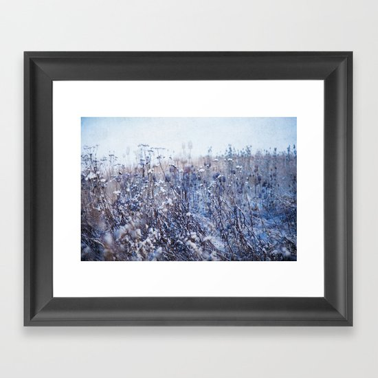 Winter Field 3 Framed Art Print
