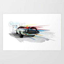 Live Fast! Art Print