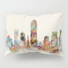 indianapolis indiana Pillow Sham