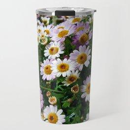 Little White Flowers Travel Mug