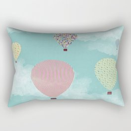 Postcard from my mind Rectangular Pillow