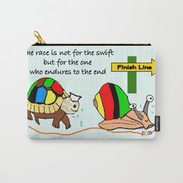 THE RACE - the turtle and the snail Carry-All Pouch