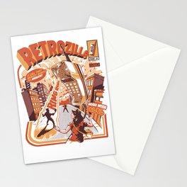 Retro Phonezilla Stationery Cards