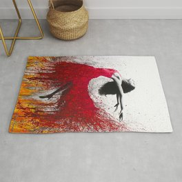 Rise Above The Flames Rug