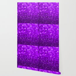 Purple disco glitter and sparkles Wallpaper