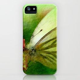 Butterfly's inn version 2 iPhone Case
