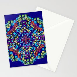 """""""Snowflakes"""" series #4 Stationery Cards"""