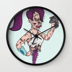 Leela Zombie Wall Clock