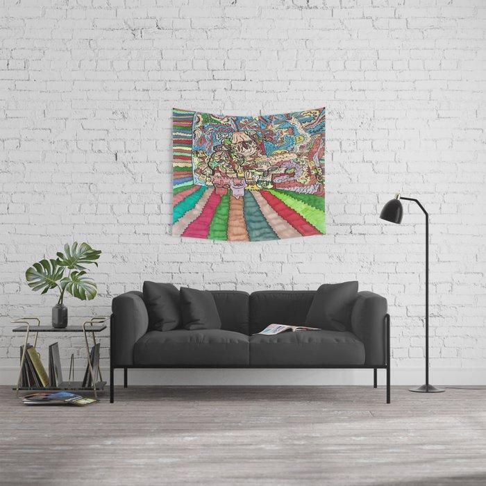 Free Radical Wall Tapestry
