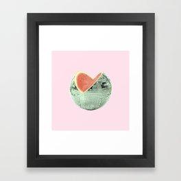 Discomelon Framed Art Print