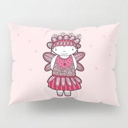 Pink Angel Pillow Sham
