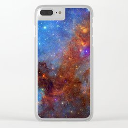 North America Nebula 2 Clear iPhone Case