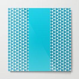 Turquoise Pattern 1.2 Metal Print