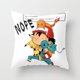 Choose One Throw Pillow