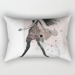 Glam Girl Rectangular Pillow
