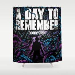 A DAY TO REMEMBER HOMESICK TOUR DATES 2019 BAKPAU Shower Curtain