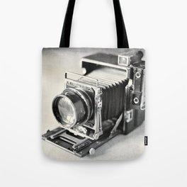 Grafflex Camera Tintype Tote Bag